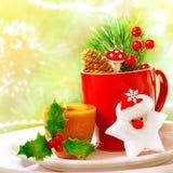 Christmas utensil set Stock Photos