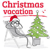 Christmas vacation Royalty Free Stock Image