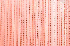 Christmas or Valentine pink textile background. Christmas or Valentine pink textile pattern for background stock photo