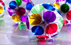 Christmas varicoloured  decorations Stock Image