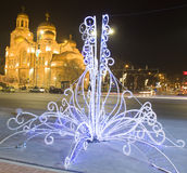 Christmas in Varna Royalty Free Stock Image