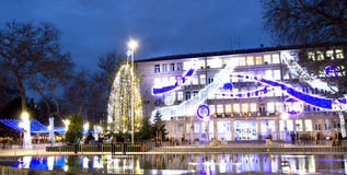 Christmas in Varna Stock Photography