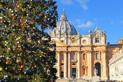 Christmas in the Vatican City Stock Image