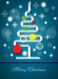 Christmas Vector. Christmas  background with light and snow Royalty Free Stock Photos