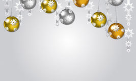 Christmas Vector Background Stock Images