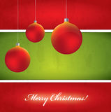 Christmas Vector Background Stock Image