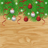 Christmas vector background Royalty Free Stock Photography
