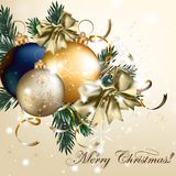 Christmas vector background Stock Photo