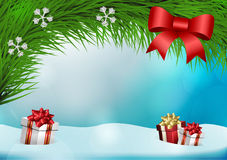 Christmas vector background Royalty Free Stock Image