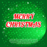 Christmas vector background. Royalty Free Stock Photos