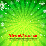 Christmas vector background. Royalty Free Stock Image