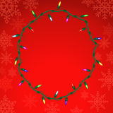 Christmas vector background. Stock Photos