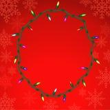 Christmas vector background. Stock Photos