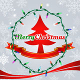Christmas vector background. Stock Images