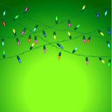 Christmas vector background. Royalty Free Stock Photo