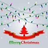 Christmas vector background. Royalty Free Stock Photos
