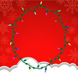 Christmas vector background. Royalty Free Stock Images