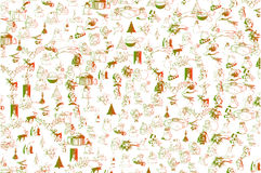 Christmas Vector Background Pattern Stock Photos