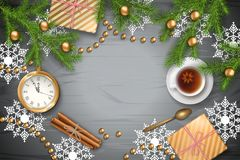 Christmas Vector Background Royalty Free Stock Images