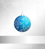 Christmas vector ball Royalty Free Stock Image