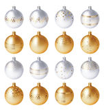 Christmas vector balls Stock Images