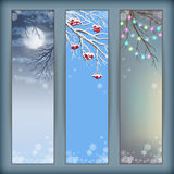 Christmas Vector Banners Royalty Free Stock Image