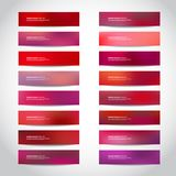 Christmas Vector banners Royalty Free Stock Photo