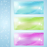 Christmas vector cards Stock Image