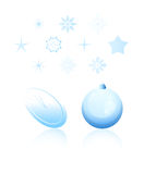 Christmas vector collection Royalty Free Stock Photos