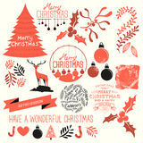 Christmas Vector Collection Stock Image