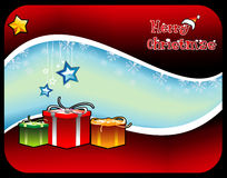 Christmas vector composition Royalty Free Stock Image