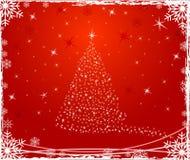 Christmas vector decor illustration. stock image