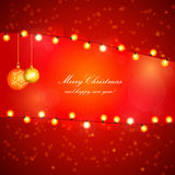 Christmas Vector Design Royalty Free Stock Images