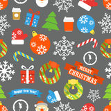Christmas vector elements collection Stock Images