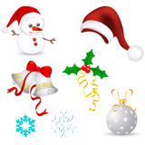 Christmas Vector Elements Collections Royalty Free Stock Photo