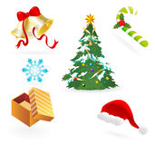 Christmas Vector Elements Collections Royalty Free Stock Images