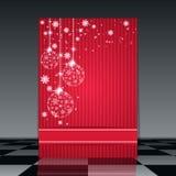 Christmas vector flyer Stock Image
