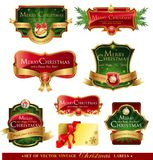 Christmas vector frames Stock Photo