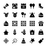 Christmas Vector Icons 6 Royalty Free Stock Photos