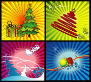 Christmas vector illustration Royalty Free Stock Photos