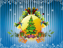 Christmas vector illustration Stock Photos
