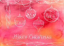 Christmas vector illustration Royalty Free Stock Photography