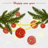 Christmas vector illustration Stock Image