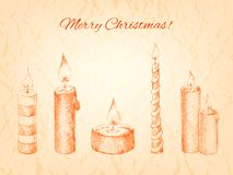 Christmas vector illustration for your design Royalty Free Stock Photos