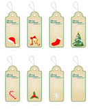 Christmas Vector Label Elements Collections Stock Photo