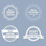 Christmas Vector Logo for banner royalty free stock photography