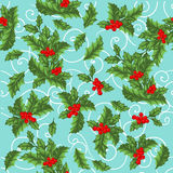 Christmas vector seamless pattern stock illustration