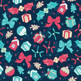 Christmas  vector seamless pattern Royalty Free Stock Photos