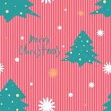 Christmas vector seamless pattern Royalty Free Stock Images