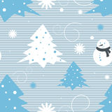 Christmas vector seamless pattern. Seamless Christmas vector pattern for wallpaper, wrapping, patterns, greetings, Christmas and New Year cards. Eps10 Stock Photos